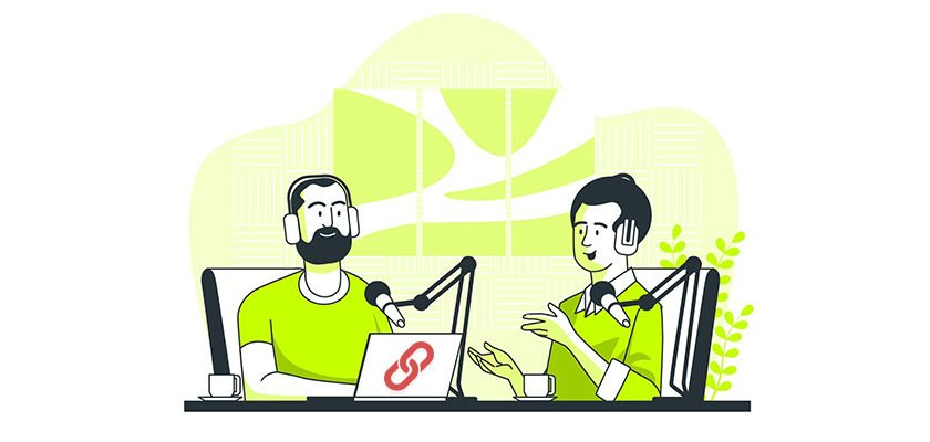 podcast link building